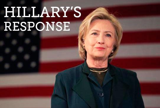 Hillary's Response