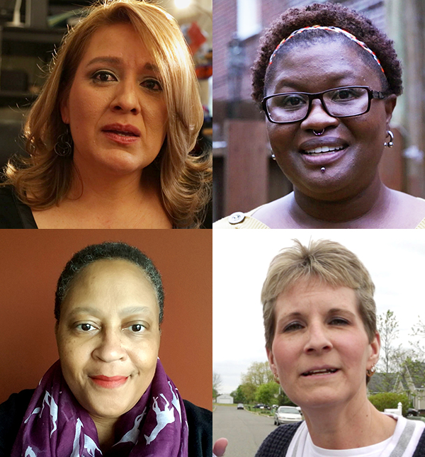 Photos of 4 moms of transgender children